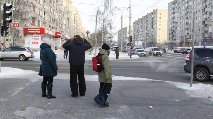 В Архангельске решили оборудовать несколько диагональных пешеходных переходов