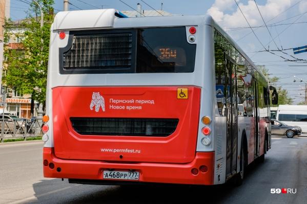 Автобусы № 54 поедут в объезд