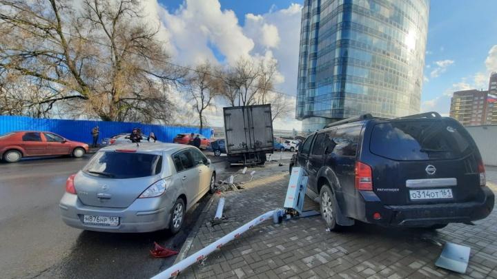 Ростов застрял в девятибалльной пробке