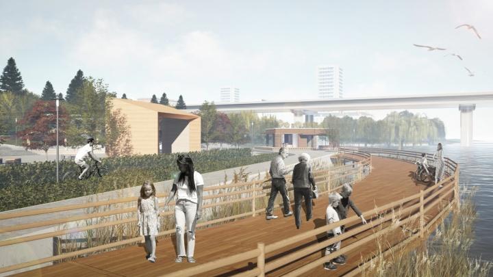 В Ростове приняли проект парка «Дружба». Показываем эскизы благоустройства за 421 млн рублей