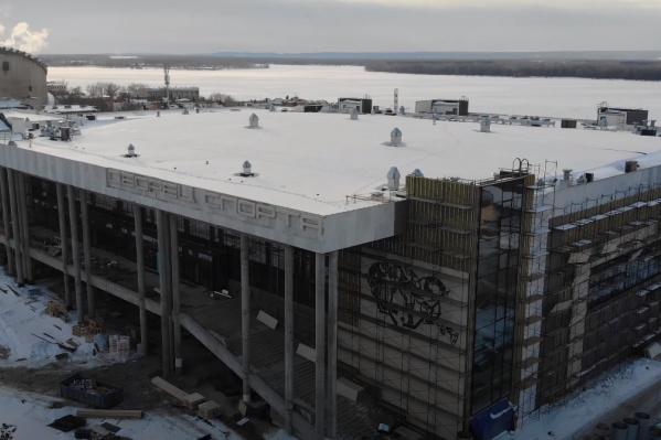 Дворец спорта запланировали открыть в 2021 году