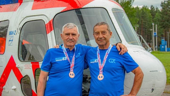Самарские вертолетчики выиграли 7 комплектов наград на международном турнире