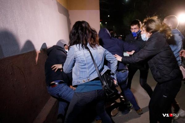 Пока в суд поступили протоколы лишь на восьмерых протестующих