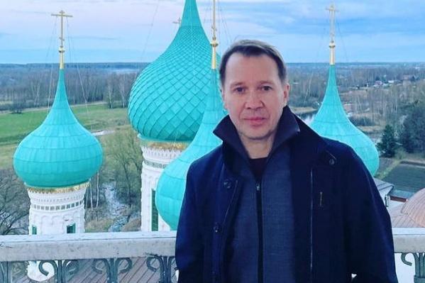 На Пасху Евгений Миронов приехал в Ярославль