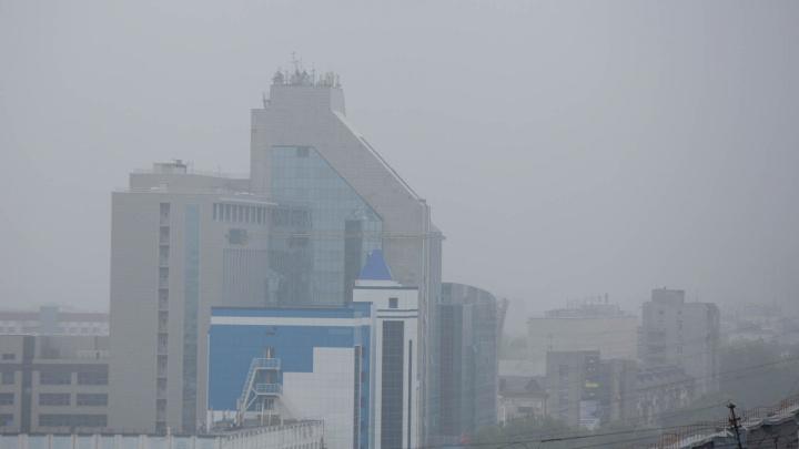 В воздухе Тюмени нашли загрязняющие вещества