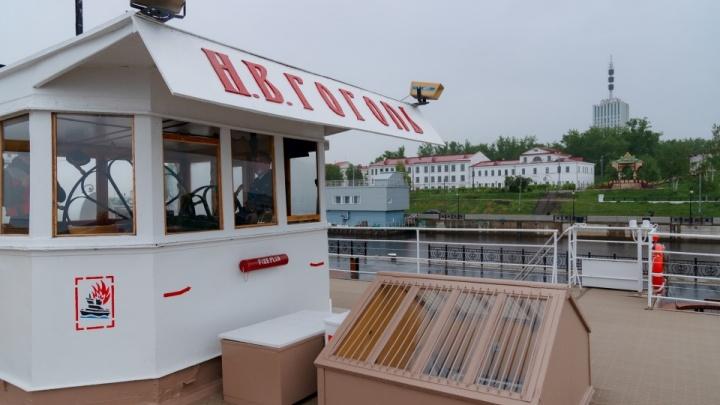 Двухчасовой рейс или четырехдневный круиз: сколько стоит путешествие на пароходе «Н. В. Гоголь»