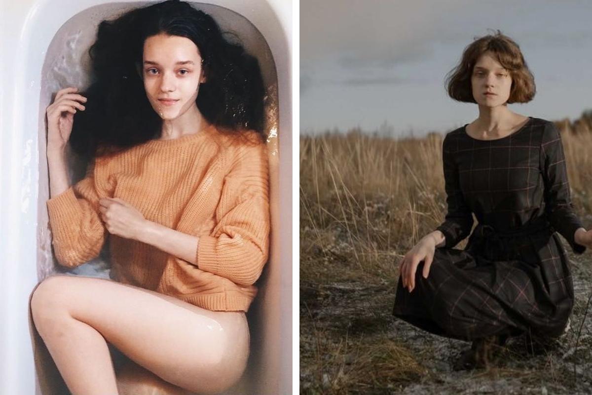 Полина стала чаще носить платья и юбки