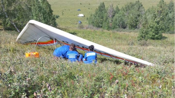 В Башкирии разбился пилот дельтаплана