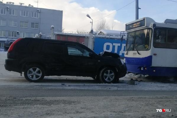 Авария произошла на Полушкиной роще