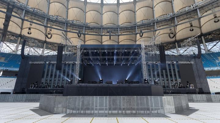13 фур оборудования, 30 литров ванили: как «Волгоград Арена» готовится к концерту «Руки Вверх!»