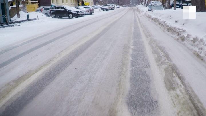 Дорогу на Светлановской почистили, но водители боятся там ездить. Собираем карту таких же мест в Новосибирске