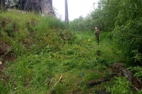 Место убийства девушки — в районе улицы Партизанской