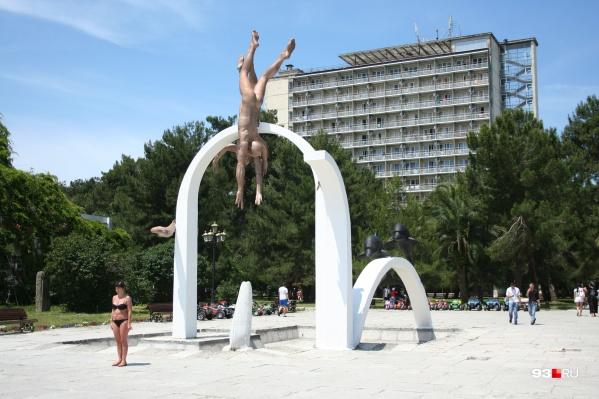 В прошлые годы Пицунда была одним из самых популярных в Советском Союзе курортов