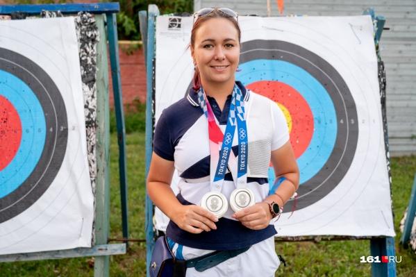 На Олимпиаде в Токио Елена Осипова выиграла две серебряные медали