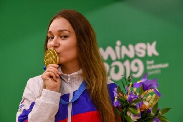 Спортсменке 25 лет, золотую медаль она взяла в Минске на Европейских играх в 2019 году. В этот раз ей досталась серебряная медаль