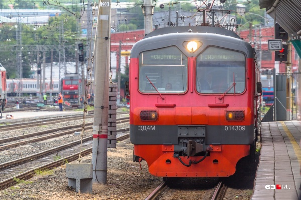 Через «Красный Кряжок» электропоезда едут в сторону Сызрани и по другим направлениям