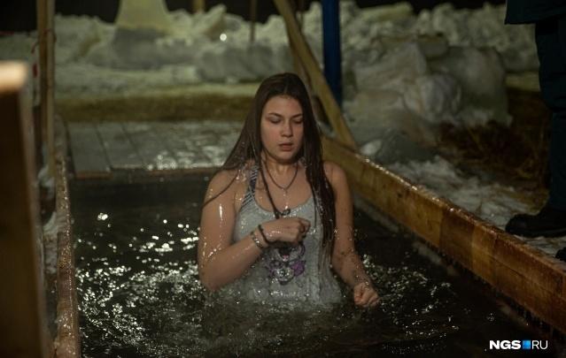 Смотрим, какая погода ожидает новосибирцев на Крещение в этом году