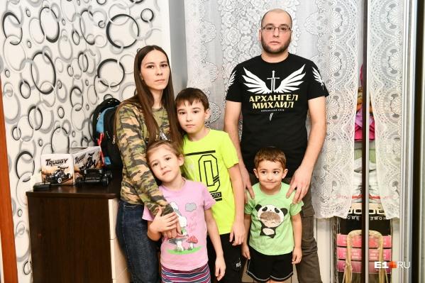 Многодетная семья может остаться на улице