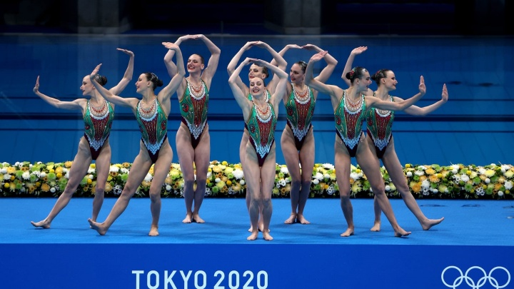 Ростовчанка Чигирева взяла золото в синхронном плавании на Олимпиаде