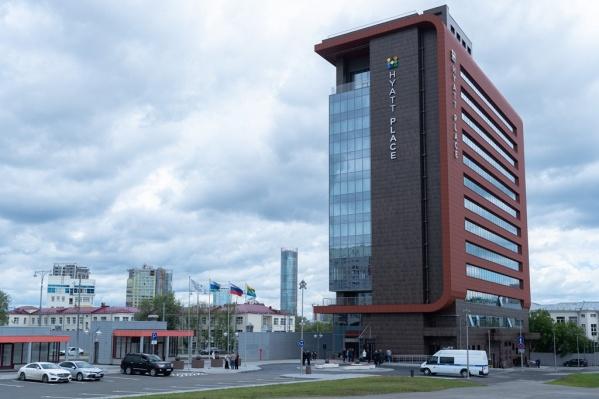 Отель Hyatt Place Ekaterinburg получил категорию 4 звезды