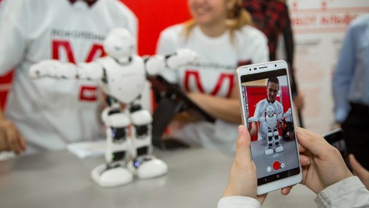 В Пермский край привезли выставку роботов со всего мира