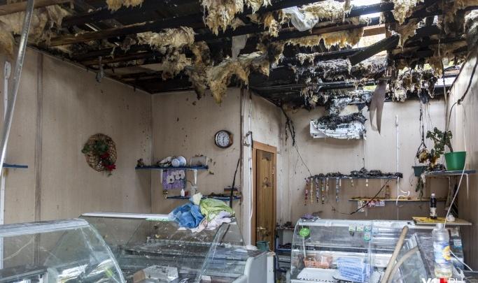 Техника подвела: в Волгограде назвали причину пожара в павильоне на Новодвинской