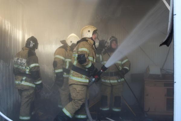 Спасатели прибыли к месту пожара слишком поздно