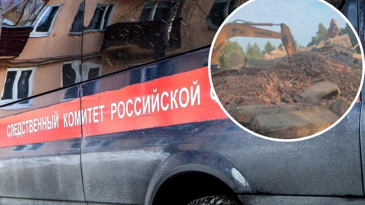 Попавший под завалы завода в селе Криуши мужчина найден мертвым