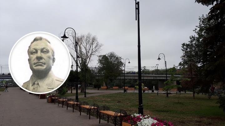 На набережной Оми установят бюст Герою Советского Союза