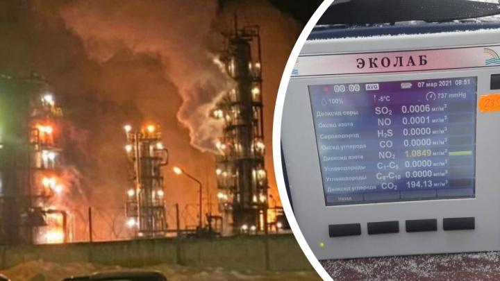 «Выявлено превышение»: ярославские экологи проверили воздух и воду в районе взрыва наНПЗ