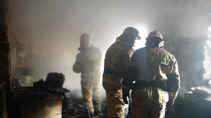 На Вторчермете во время пожара в частном доме погиб мужчина