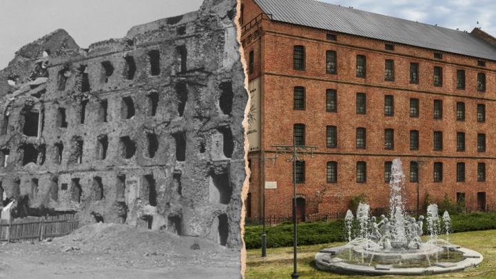 «К руинам все привыкли, а такой ее мало кто знает»: фотограф восстановил разрушенную мельницу в центре Волгограда