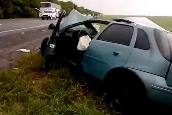 Двое пострадавших ехали в Opel Corsa