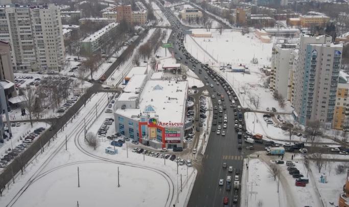 Часть улицы XXII Партсъезда закроют на время строительства развязки на Ново-Садовой