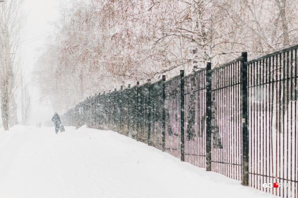 Такой обильный снегопад прошел в регионе 10 января