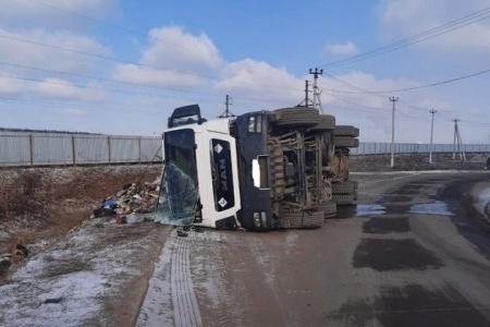Водитель мусоровоза оказался в больнице