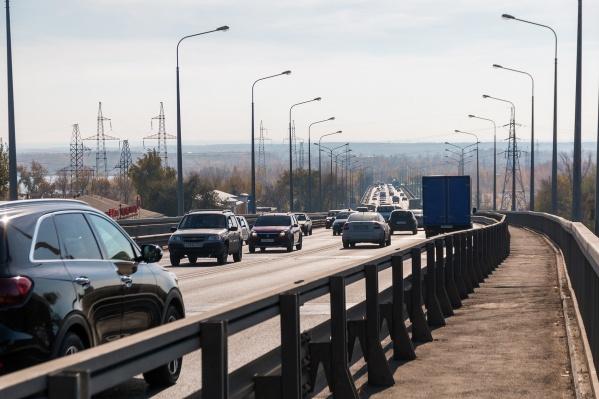 На Южном шоссе очень интенсивный трафик