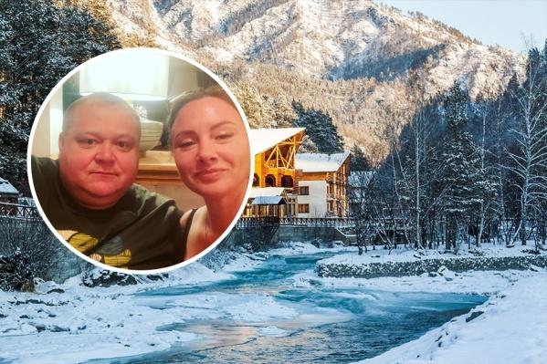 Семья Краевых отдыхает в Горном Алтае