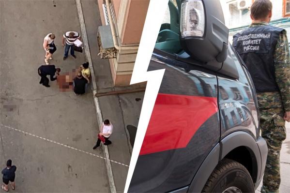 На месте трагедии работали полицейские и следователи