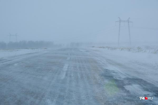 Женщина заблудилась по дороге домой и замерзла насмерть. Это произошло в разгар метели