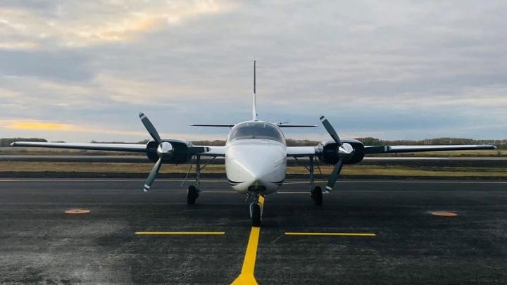На аэродроме имени Летова появился новый самолет. Он стал самым большим в парке