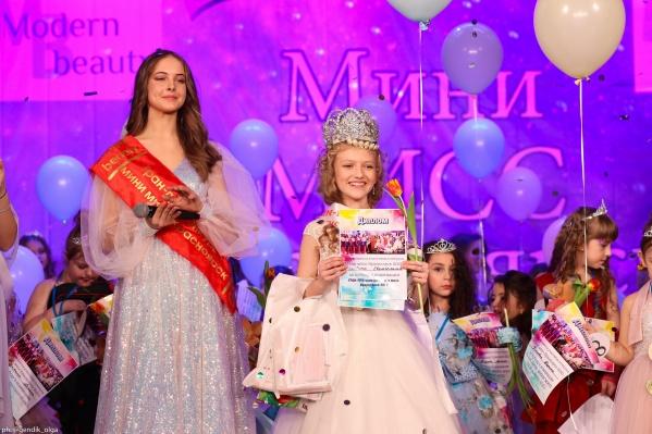 Гран-при получила Евангелина Скобина — девочка учится в музыкальной школе и учится на одни пятерки