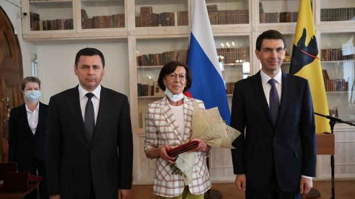 В День России губернатор Ярославской области вручил жителям государственные и региональные награды