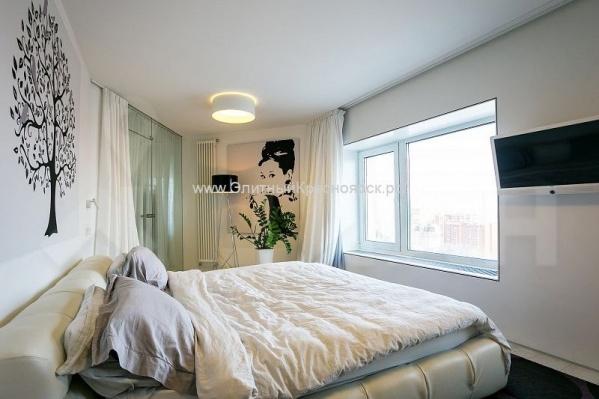 В квартире сделан дизайнерский ремонт в скандинавском стиле