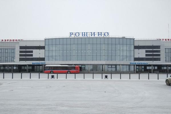 Самолет вылетел из Рощино в субботу утром