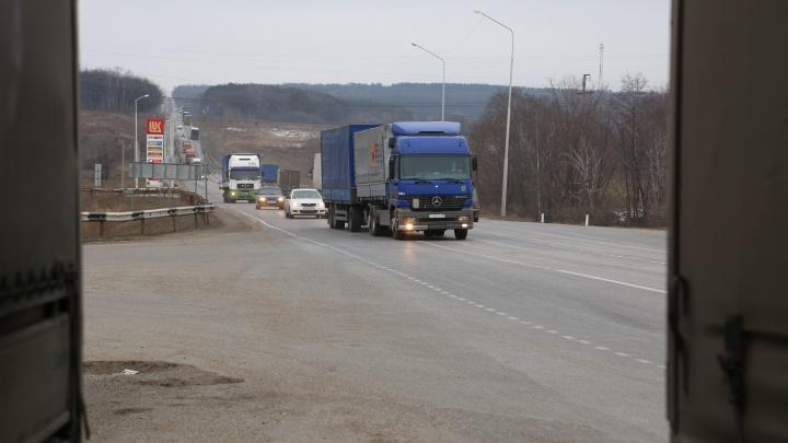Машины пойдут по населенным пунктам. Под Уфой из-за ремонта перекроют участок трассы М-5