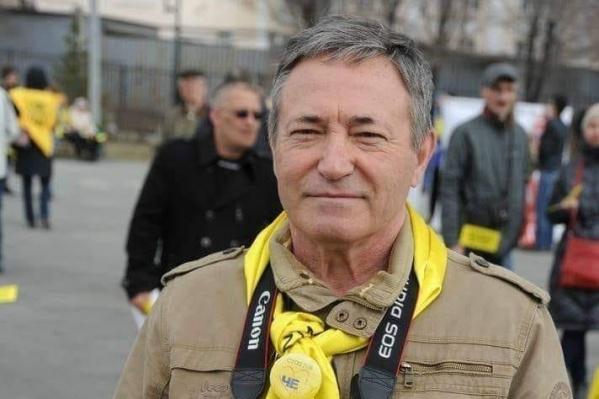 За одиночные пикеты Алексея Ногина отправили в спецприемник на трое суток