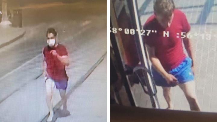 Полиция Перми разыскивает мужчину, которого подозревают в развратных действиях по отношению к подростку