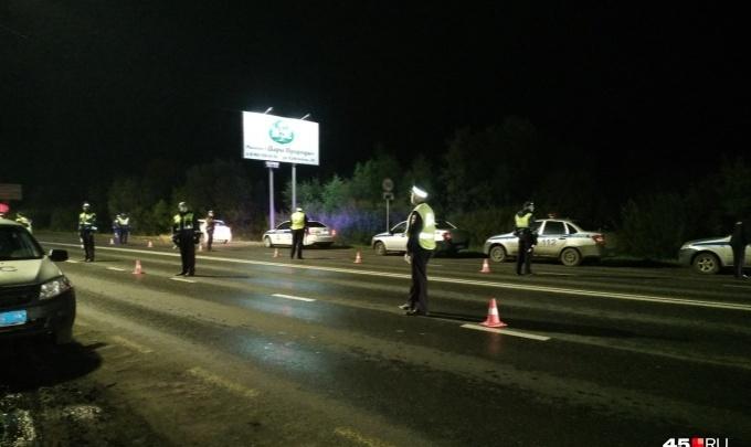 Зауральские полицейские после погони со стрельбой задержали пьяного водителя