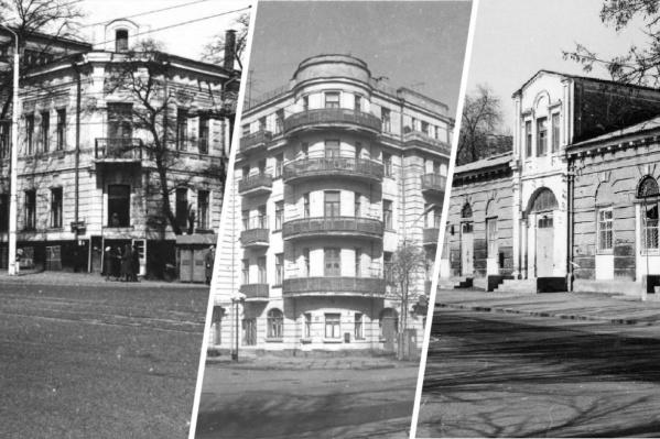 Части этих зданий необходима реставрация. А некоторые до нее «не дожили»